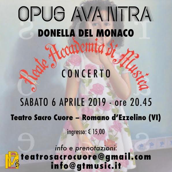 Concerti OpusAvantra: 6 aprile con REALE ACCADEMIA DI MUSICA e 3 maggio con JURI CAMISASCA
