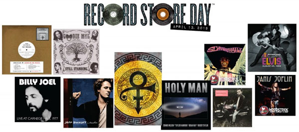 SONY MUSIC - RECORD STORE DAY - 13 aprile 2019
