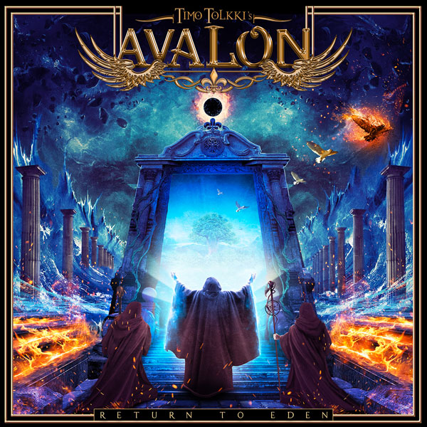"TIMO TOLKKI'S AVALON feat. Anneke Van Giersbergen: ""Hear My Call""  (Lyric Video) - Frontiers Music Srl"