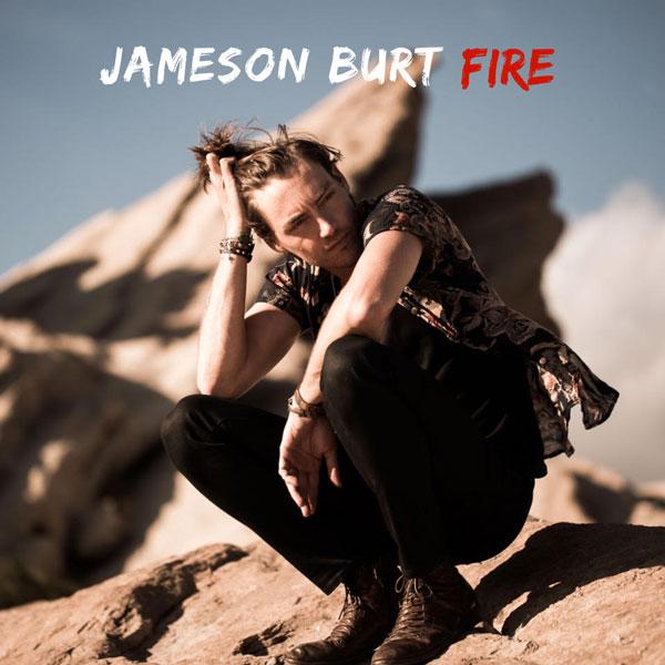 """JAMESON BURT: """"FIRE"""" - l'artista che aprirà i concerti di Vasco presenta il nuovo singolo in radio dal 24 maggio"""