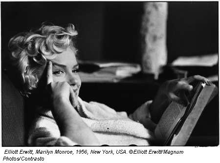 Elliott Erwitt, Marilyn Monroe, 1956, New York, USA. ©Elliott Erwitt/Magnum Photos/Contrasto