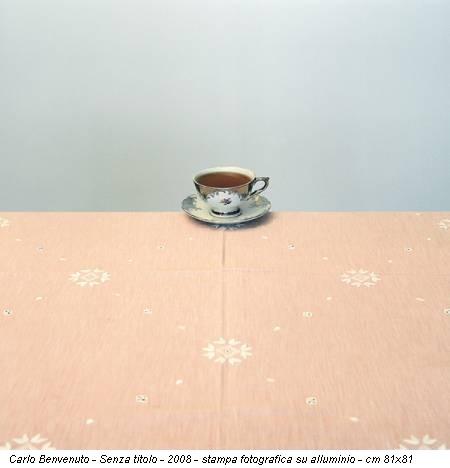 Carlo Benvenuto - Senza titolo - 2008 - stampa fotografica su alluminio - cm 81x81