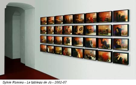 Sylvie Romieu - Le tableau de Jo - 2002-07