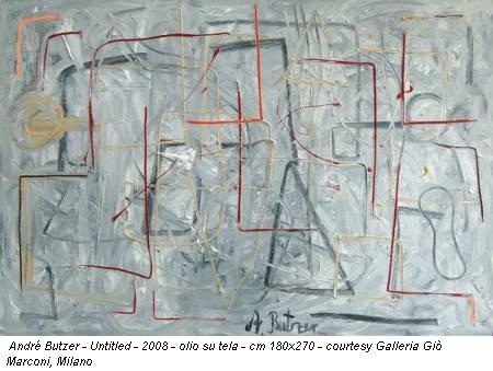 André Butzer - Untitled - 2008 - olio su tela - cm 180x270 - courtesy Galleria Giò Marconi, Milano