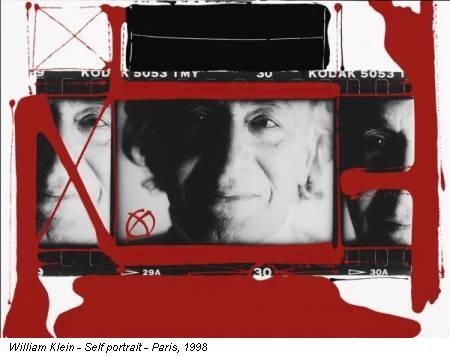 William Klein - Self portrait - Paris, 1998