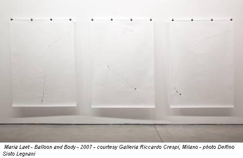 Maria Laet - Balloon and Body - 2007 - courtesy Galleria Riccardo Crespi, Milano - photo Delfino Sisto Legnani