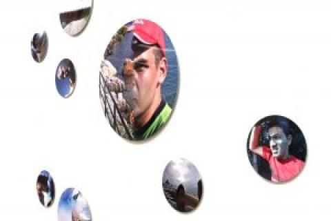 THE GOOGLE TRILOGY – 3. The Driver and the Cameras, 2012 (detail). View of the installation at Ricalcolo. Di territori computanti e dei loro attuatori analogici(2020). Photo © Andrea Trinciardi. Courtesy the artist.