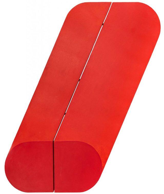 Rodolfo Aricò, Assonometria Rossa (1967). Art-Rite