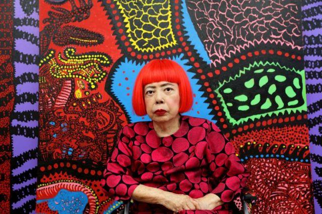 Yayoi Kusama, Portrait. ©YAYOI KUSAMA, Courtesy: Ota Fine Arts, Victoria Miro & David Zwirne