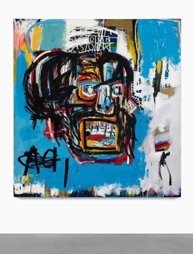 Versus Medici Basquiat Sotheby's