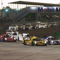 rF2 GTE and LMP2 at Sebring