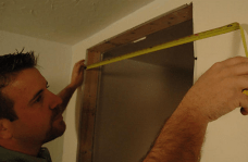 Measure door
