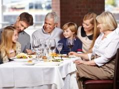co założyć na rodzinną kolację