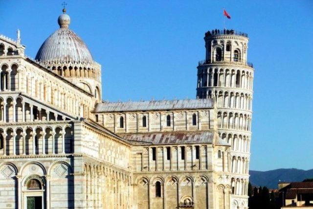 Pisa - miasto w Toskanii