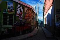 In den Gassen von Valparaiso 1