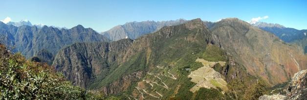 Wayna Picchu Panorama