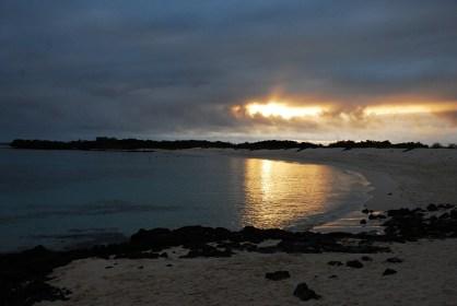 Sonnenaufgang in Santa Cruz