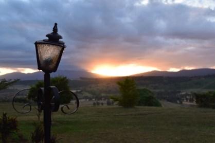 Sonnenuntergang Karatu