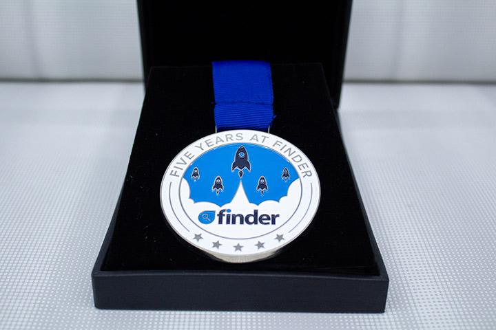 Finder - service medals