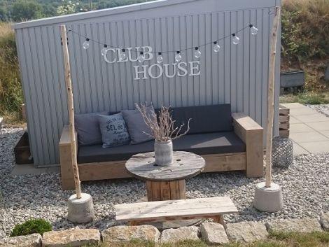 bauholz design outdoor sofa