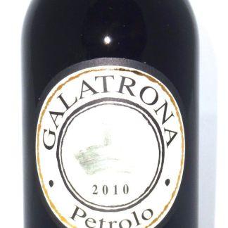 Eine Flasche Petrolo Galatrona 2010