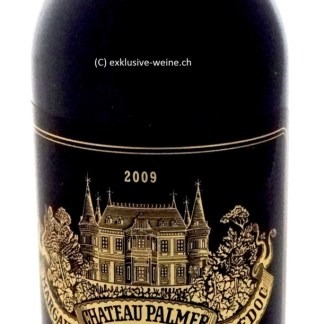 Eine 0.75L Flasche Chateau Palmer 2009