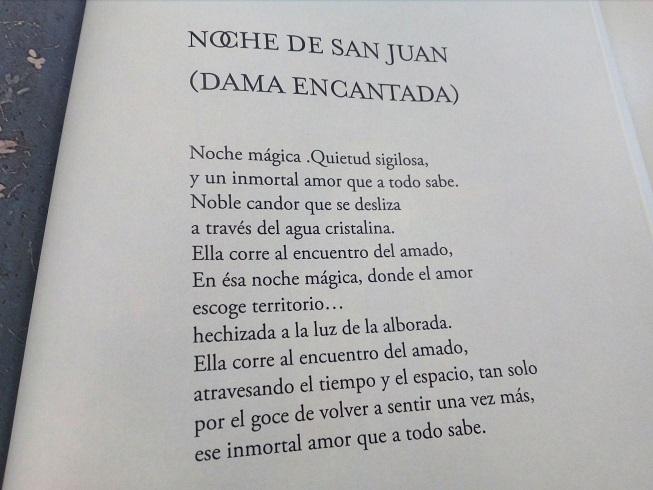 Poema noche de San Juan