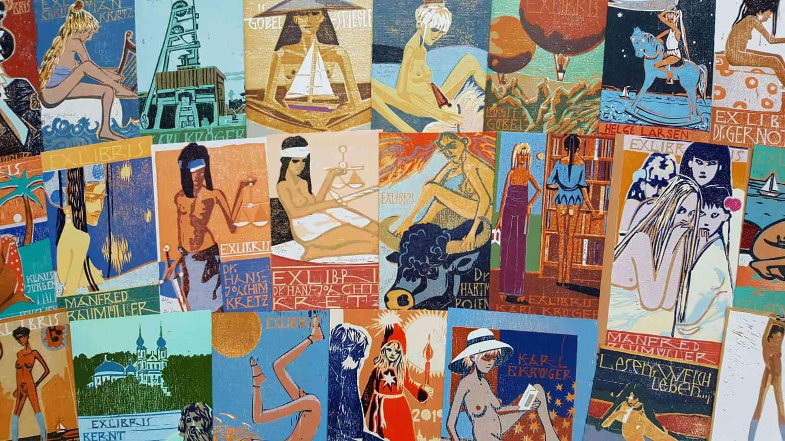 Website Bild Exlibris 2 Sammeln von Exlibris