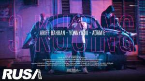 Lirik Lagu 3 Kucing - Ariff Bahrn, Yonnyboii & Adam E