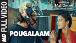 Pougalaam Song Lyrics - M.S. Dhoni