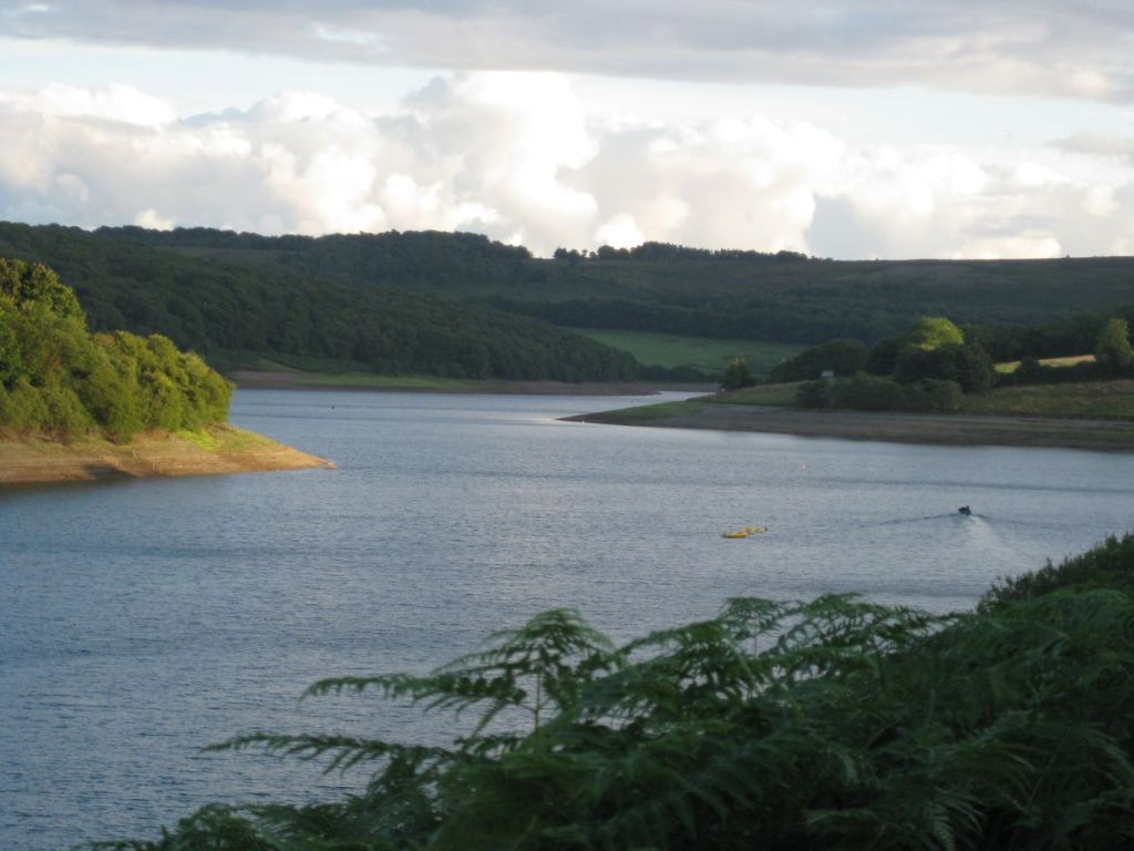 Wimbleball Lake, Exmoor is about 1 mile from West Withy Farm.