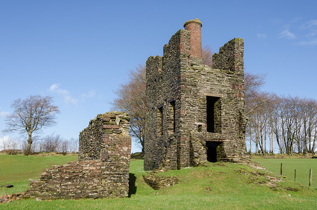 Burrow Engine House on the Mineral Line, Brendon Hills