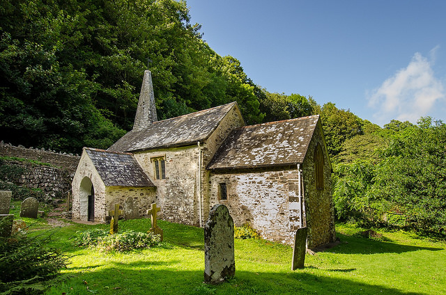 Culbone Church - Exmoor's remotest church