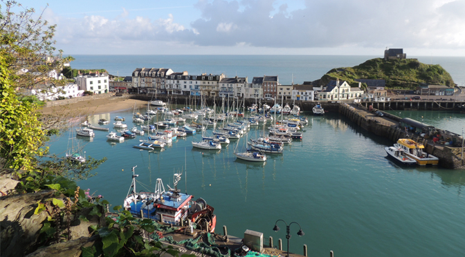 REPAIR WORK UNDERWAY AT ILFRACOMBE HARBOUR