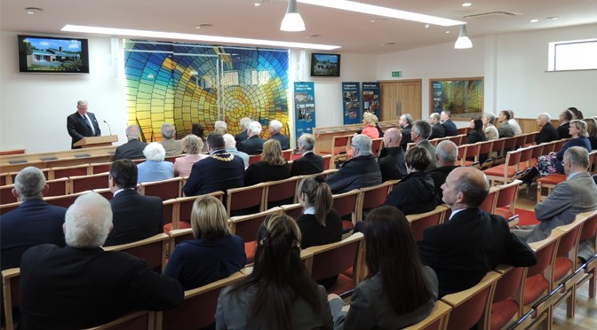 NEW CHAPEL OPENS AT NORTH DEVON CREMATORIUM