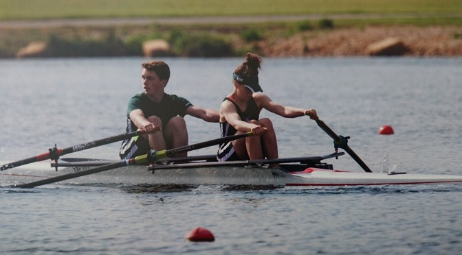 WELLINGTON SCHOOL PUPIL WINS GOLD AT OLYMPIC ROWING LAKE
