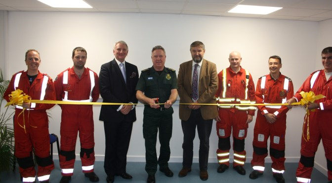 DORSET AND SOMERSET AIR AMBULANCE OPENS ITS NEW CLINICAL TRAINING FACILITY