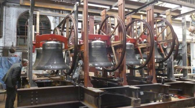 KING'S PUPILS CREATE CARILLON CHIME FOR ST MARY MAGDALENE