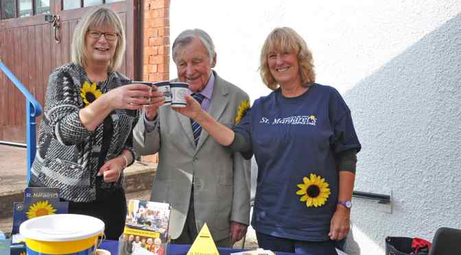 MILES TEA & COFFEE EVENT RAISES OVER £400 FOR ST MARGARET'S HOSPICE