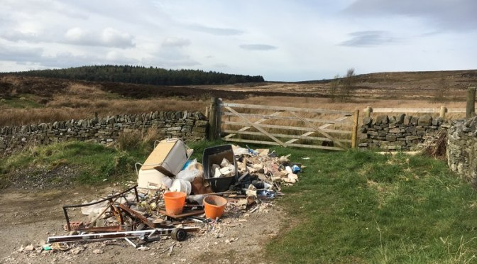 MAN SUCCESSFULLY PROSECUTED FOR FLY-TIPPING