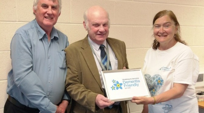 WEST SOMERSET COUNCIL JOINS DEMENTIA ALLIANCE