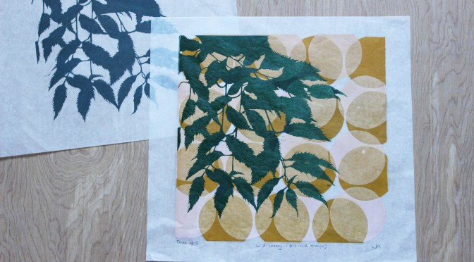LEAF AND TREE EXHIBITION BY LOCAL ARTIST IN DULVERTON