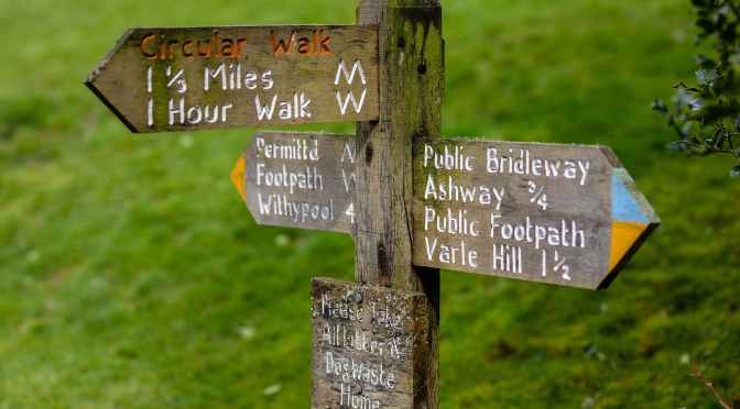 EXMOOR'S RIGHTS OF WAY RATED FIRST-CLASS