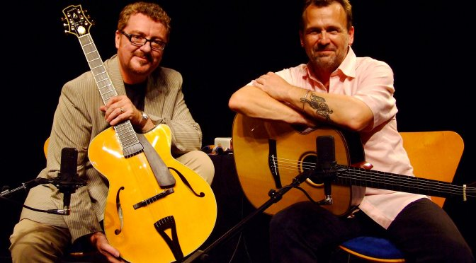 CONCERT AT HALSWAYS: MARTIN TAYLOR & MARTIN SIMPSON