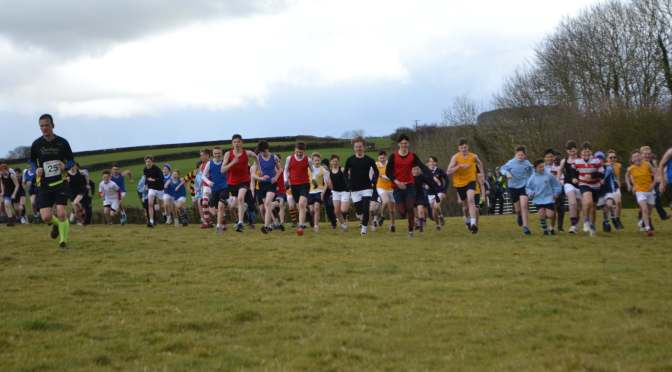 SLEET AND SNOW FAIL TO DAMPEN WEST BUCKLAND SCHOOL'S 'EXMOOR RUN'