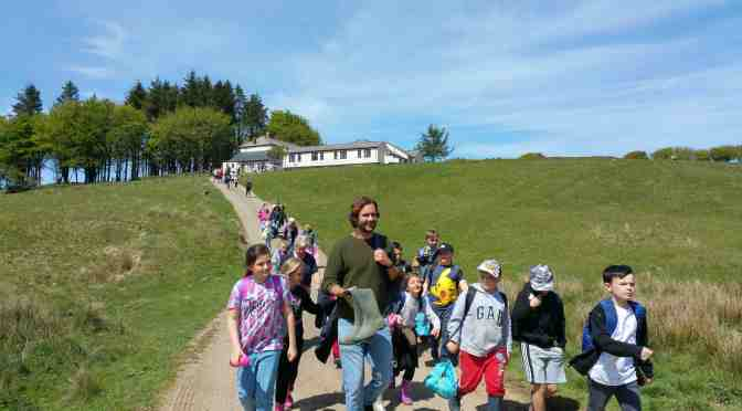 FUNDING BOOST FOR URBAN SCHOOLS VISITING EXMOOR