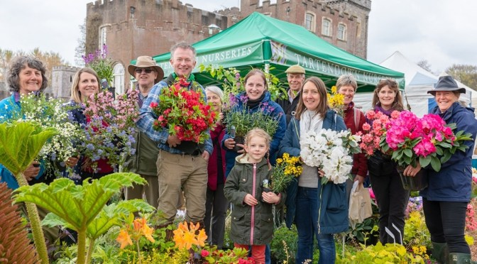 TOBY BUCKLAND'S GARDEN FESTIVAL COMING UP