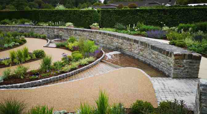 NEW COOL GARDEN AT RHS ROSEMOOR