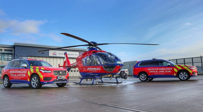 DEVON AIR AMBULANCE EXPANDS SERVICE WITH CRITICAL CARE CARS
