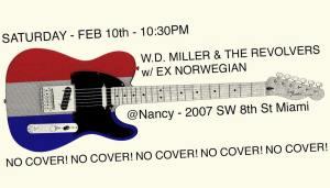 Bar Nancy flyer